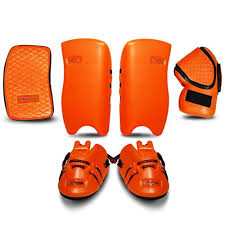 orange-goalie-equipment